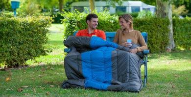 saco de dormir doble para matrimonio
