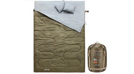 saco de dormir doble