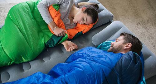 marcas de sacos de dormir