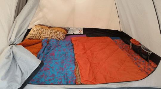 saco de dormir doble decathlon