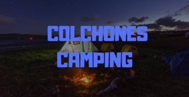 colchones camping