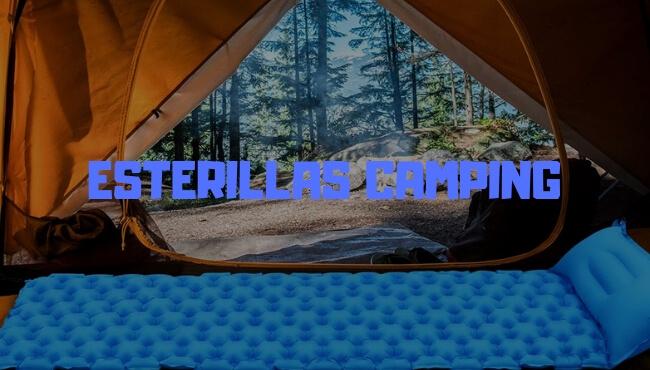 esterillas camping