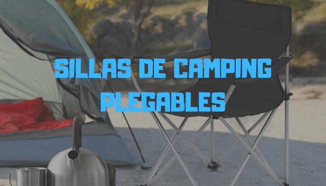 mesa con sillas camping